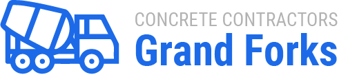 concrete contractors grand forks logo